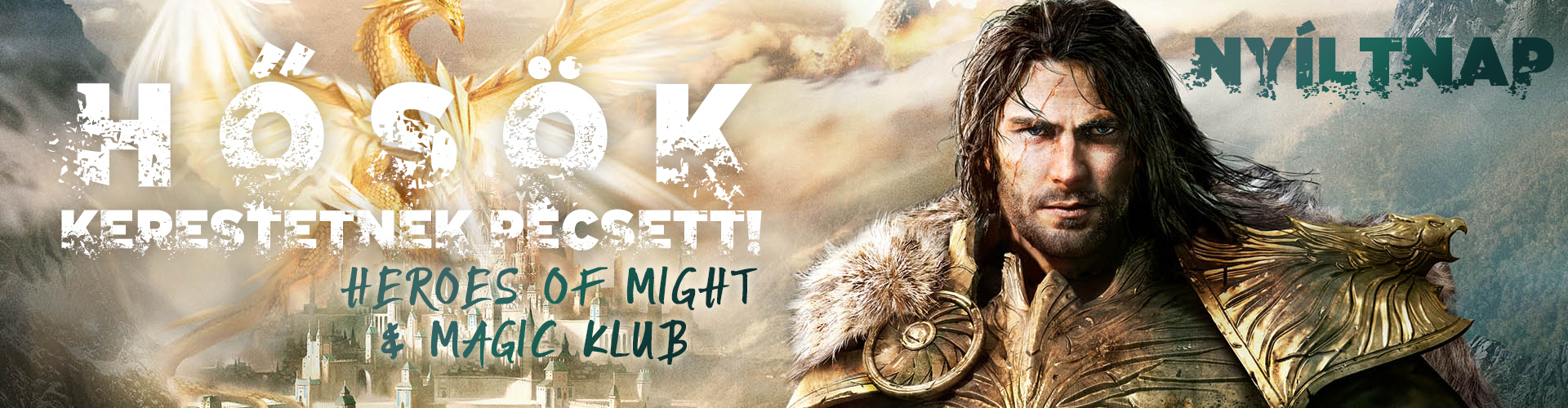 Hősök kerestetnek Pécsett! Heroes of Might & Magic klub nyíltnap